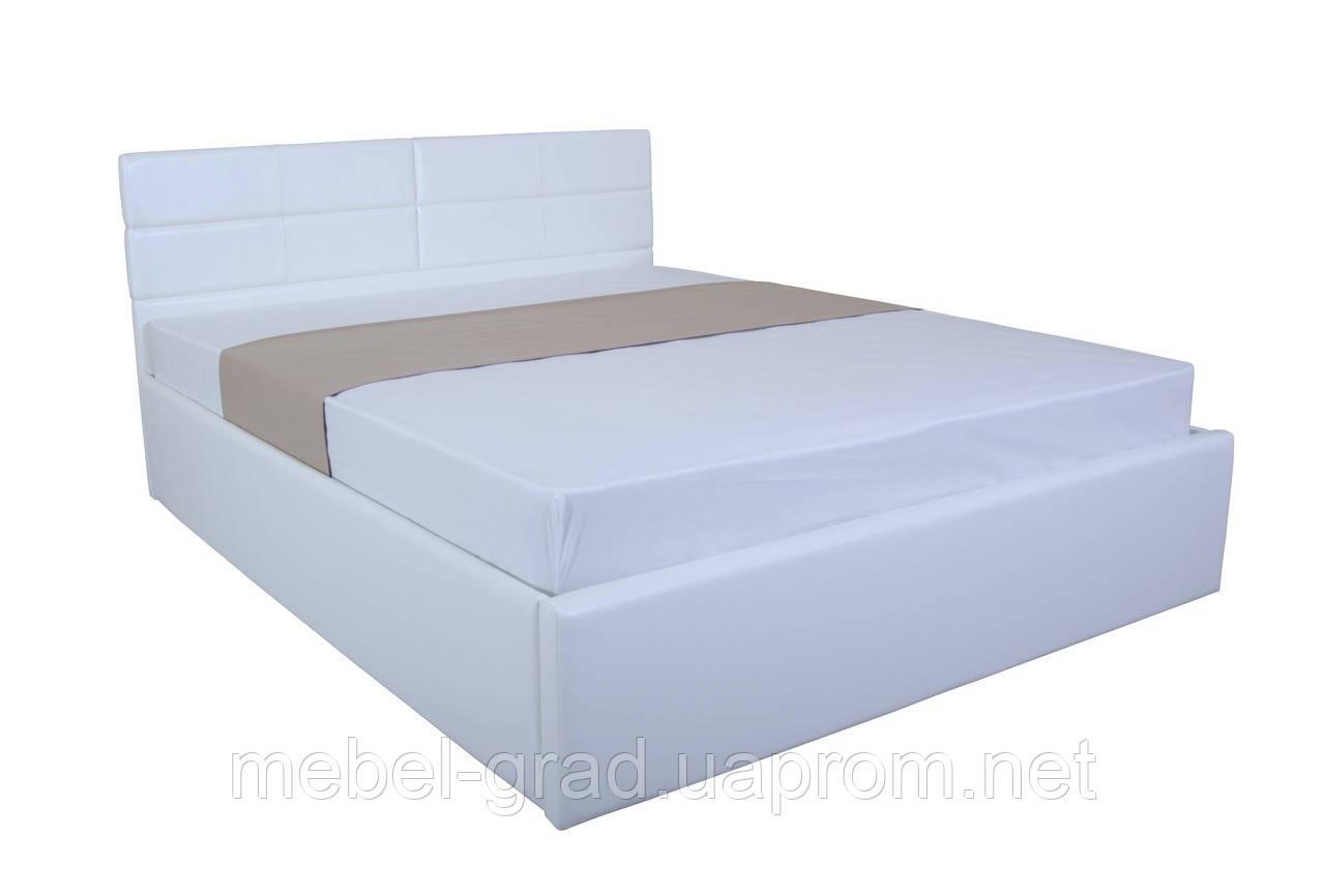 Кровать с мягким изголовьем и подъемным механизмом Джесика MELBI 160х200