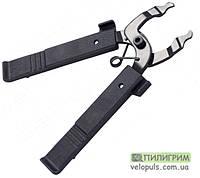 Ключ для установки и снятия замка велосипедной цепи - Bike Hand YC-335ST, мини (с бортировками)