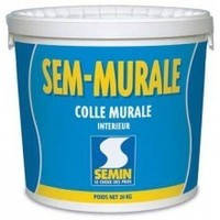 Клей для стеклообоев, для тяжелых обоев SEM-MURALE Semin, 10кг
