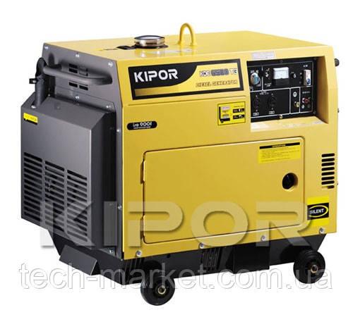 Дизельный генератор Kipor KDE6500T3