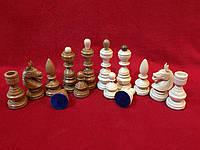Шахматные фигуры резные деревянные из черешни Украина