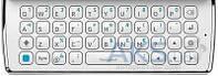 Клавиатура (кнопки) Sony Ericsson SK17i Mini Pro White