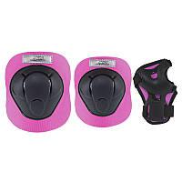 Комплект захисний Nils Extreme H210 Size M Black/Pink