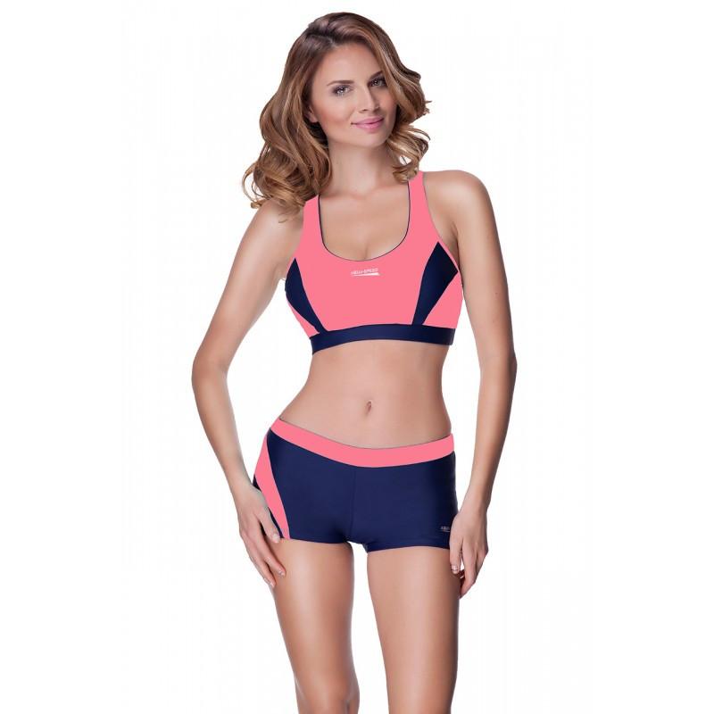 15e550d5c714 Раздельный женский купальник спортивный Aqua Speed Fiona (original), с  топом и шортами для ...
