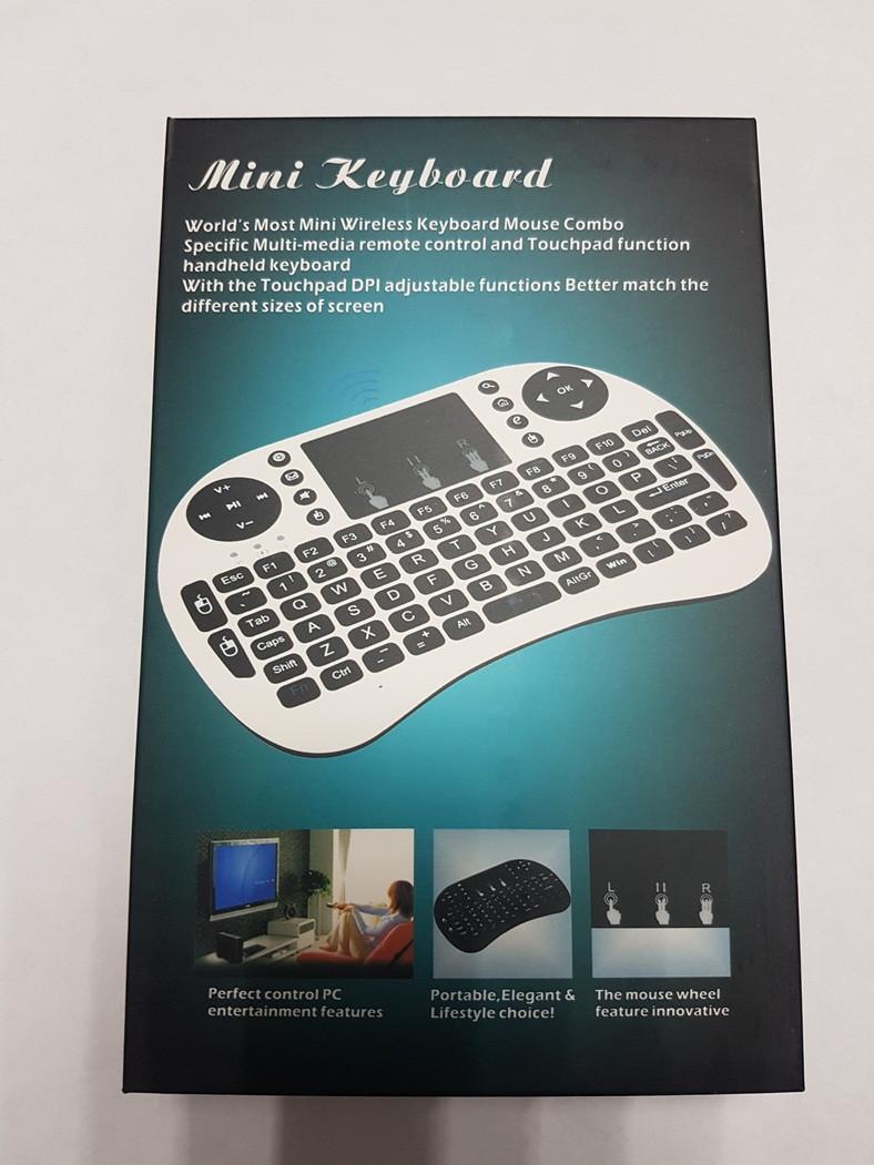 Аэропульт Smart Box Air Mouse Mini Keyboard Мини клавиатура
