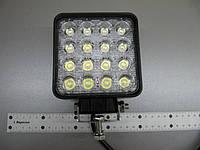 Дополнительная фара LED GV1210-48W квадратная. , фото 1