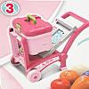 Детская кухня-чемодан на колесах 008-927 с посудкой и продуктами 3 в 1, фото 2