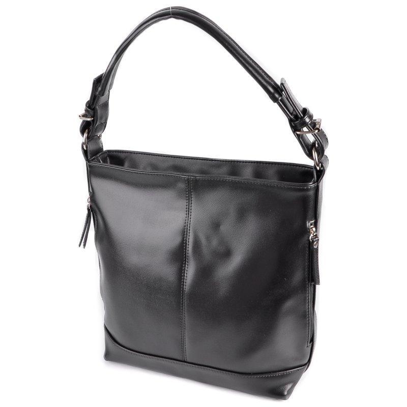 0e69ee958a27 Сумка женская-мешок М212-33 черная с одной ручкой: продажа, цена в ...