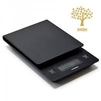 Весы Hario V60 Drip Scale с таймером для приготовления кофе, фото 1
