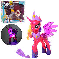 Игровой набор фигурка Литл Пони единорог (my Little Pony) принцесса с крыльями 22 см, музыка, свет, 2 вида, 10