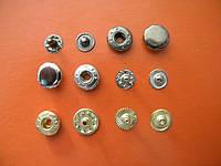 Кнопка 12.5 мм никель (720 штук)