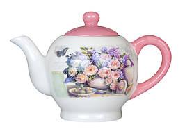Чайник заварочный Розовый букет 730 мл 358-804