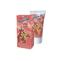 Зубная паста детская Клубника Aquarelle Kids