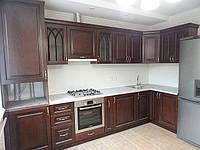Кухня дубовый фасад