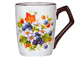 Набор из 6 кружек Ягодный цвет, керамика 500 мл 358-861-6