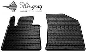 Передние резиновые коврики PEUGEOT 508 2010- (2 шт) Stingray 1016072