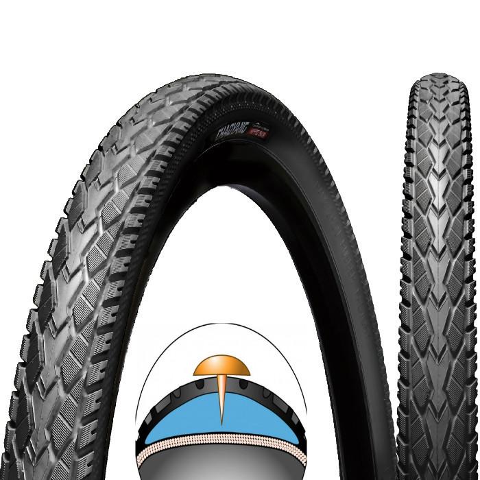 Покришка велосипедна ChaoYang 24 x 1,95 H-5113 Антипрокольная