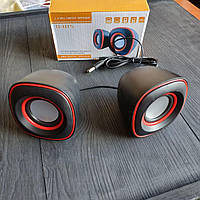 Мини колонки проводные Mini Digital Speaker D-015 для компьютера, ноутбука, телефона, планшета и пк