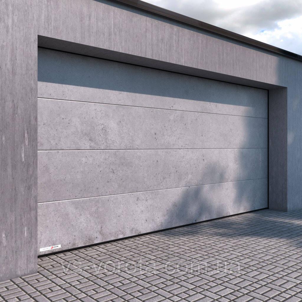 Ворота RYTERNA R40 размер 3000х2000 мм, под бетон, гаражные
