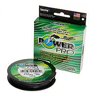 Шнур плетений Power Pro USA 4-х жильний 0.13мм 92м оригінальний