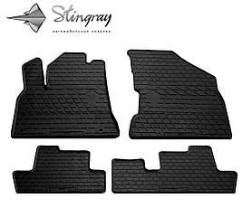 Коврики резиновые в салон Peugeot 5008 2008- (4 шт) Stingray 1016164