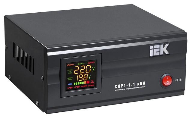 Стабилизатор напряжения СНР1-1- 0,5 кВА электронный стационарный ИЭК