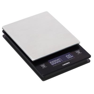 Весы HARIO Hario V60 metal drip scale LCD сметаллической платформой