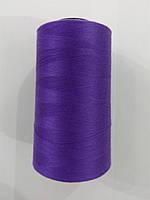 Нитки швейные 50/2 цв.S-218 фиолетовый яркий (боб.5000 ярдов) NITEX