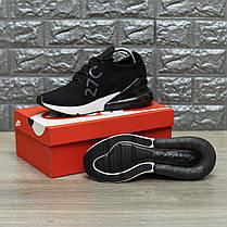 """Кроссовки Nike Air Max 270 Flyknit """"Черные"""", фото 3"""