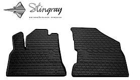 Передние резиновые коврики Peugeot 5008 2008- (2 шт) Stingray 1016162