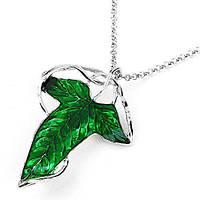 Кулон-Брошь GeekLanr Эльфийский Лист Elven Leaf VK5.4