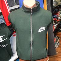 Спортивный трикотажный костюм Nike, производства Украина (темно-зеленый)