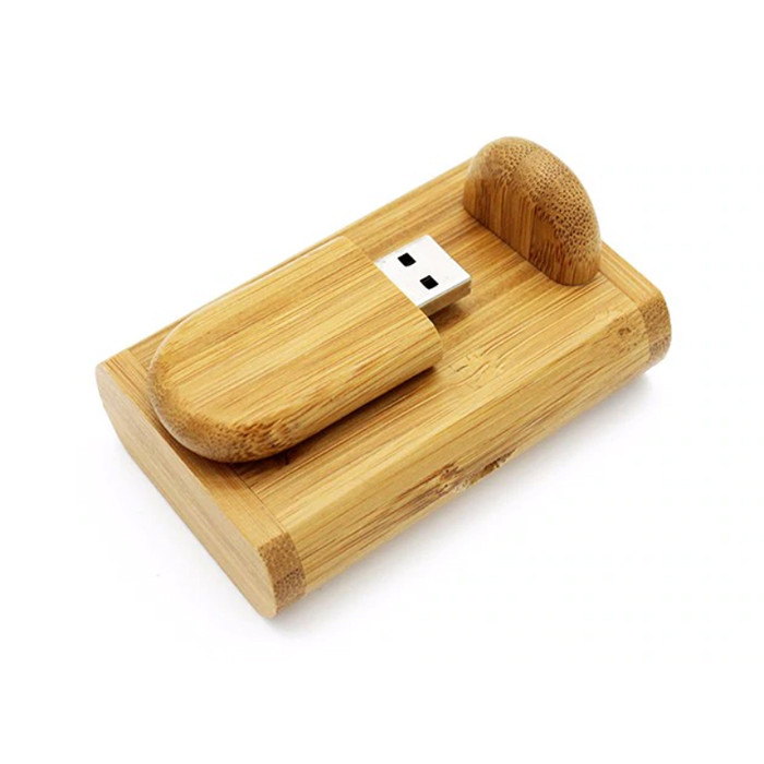 Деревянная USB Флешка под гравировку 16 Gb, фото 1