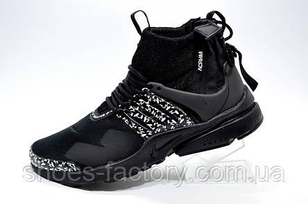 Мужские кроссовки в стиле Nike Air Presto Mid x ACRONYM, Black, фото 2