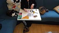 Стол для творчества предметный стол переносной рабочий стол стол для творчества рукоделия.