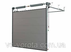 Ворота TREND размер 2800х2200 мм - ALUTECH Белоруссия, гаражные секционные