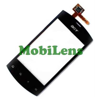 Acer E310, Liquid mini Тачскрин (сенсор) черный, фото 2