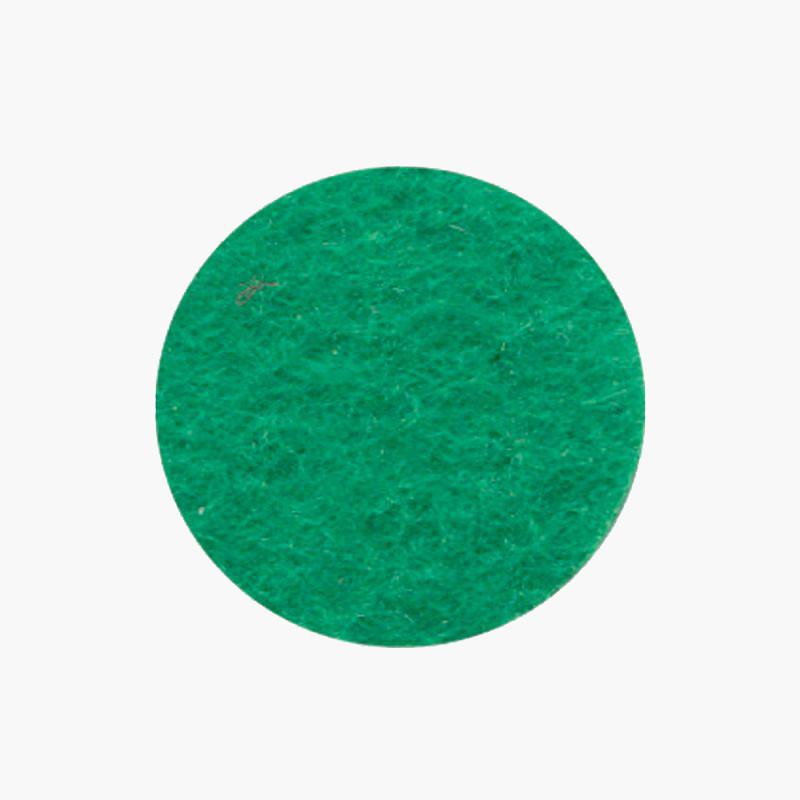 Фетр листовой (полиэстер) 21.5*28 см,зеленый светлый 180 г/м2 Rosa Talent 165FW-H018