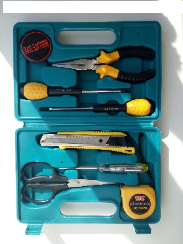 Набор инструментов для дома HOLD TOOLS (8 предметов)