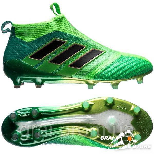 05868328 Бутсы Adidas ACE 17+ Purecontrol FG Green/Black — в Категории ...