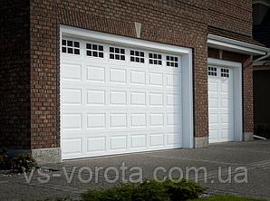 Ворота TREND размер 3500х2200 мм - ALUTECH Белоруссия, гаражные секционные