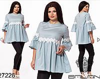 Блуза женская в расцветках 26708, фото 1