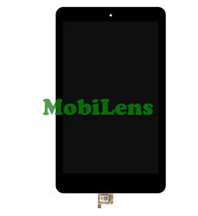 Acer B1-820, Iconia One Дисплей+тачскрин(модуль) черный, фото 2