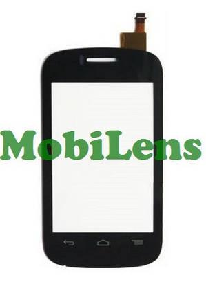 Alcatel 4015, One Touch, POP C1 Dual Тачскрин (сенсор) чёрный, фото 2