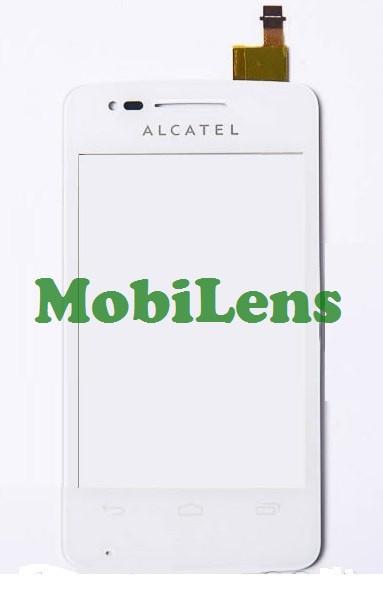 Alcatel 4030, 4030D, S Pop Тачскрин (сенсор) белый