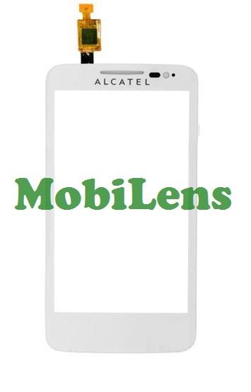 Alcatel 5020, 5020D Тачскрин (сенсор) белый