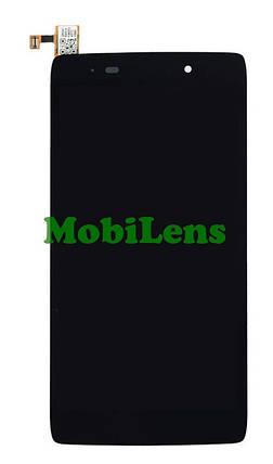 Alcatel 6039Y, One Touch Idol 3 Дисплей+тачскрин(модуль) черный, фото 2