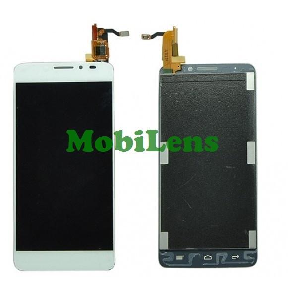 Alcatel 6040, 6040D, 6040X, Idol X Дисплей+тачскрин(сенсор) белый