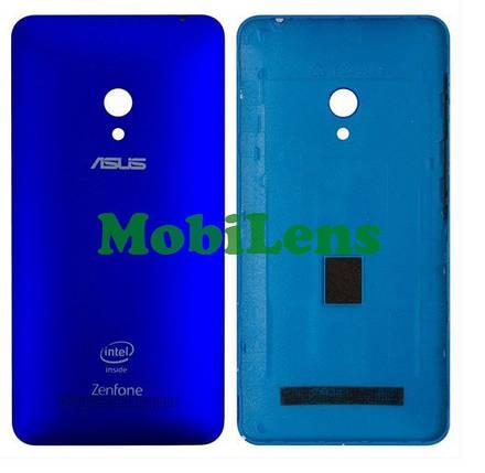 Asus A500CG, A501CG, A500KL, ZenFone 5, T00F, T00J Задняя крышка синяя, фото 2