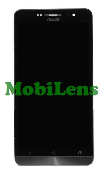 Asus A600CG, ZenFone 6 T00G, A601CG Дисплей+тачскрин(сенсор) в рамке черный